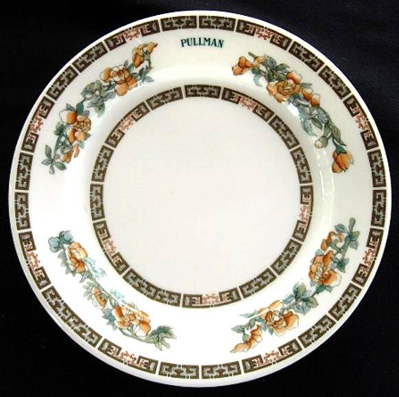 Pullman Indian Tree -plate