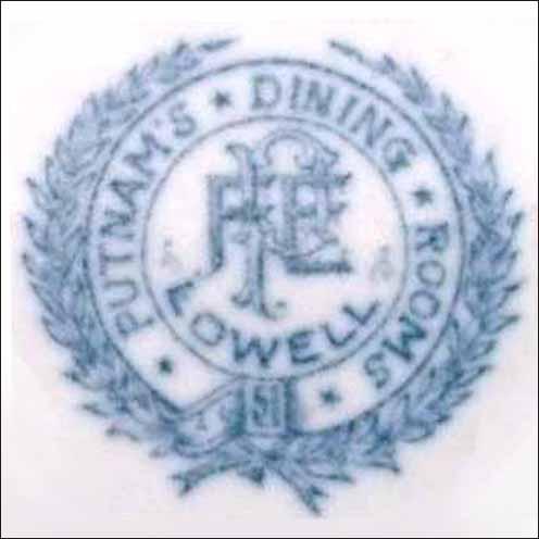 Putnam's Dining Rooms -detail