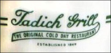 Tadich Grill -detail