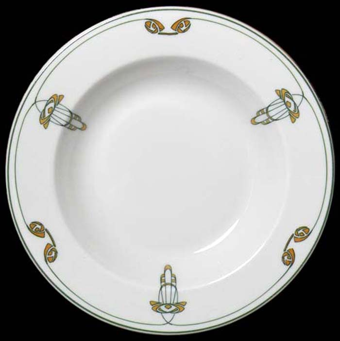 Thebes-soup plate