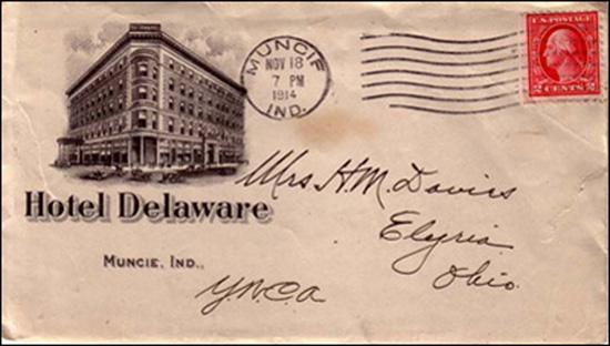 Thornburg Hotel Company -envelope 1