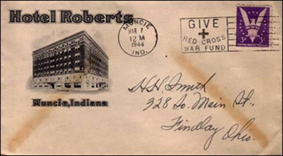 Thornburg Hotel Company -envelope 2