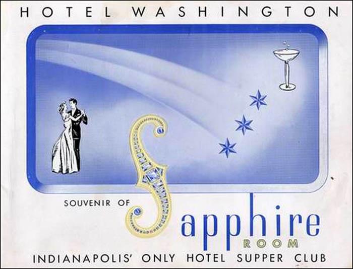 Sapphire Room -ad