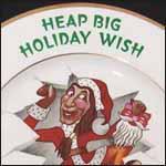 Shenango Christmas Advertising Plate