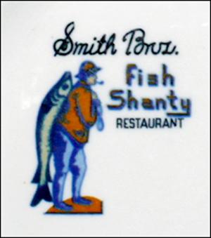 Smith Bros. Fish Shanty -detail