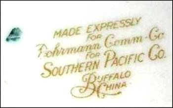 Southern Pacific Lines -bs
