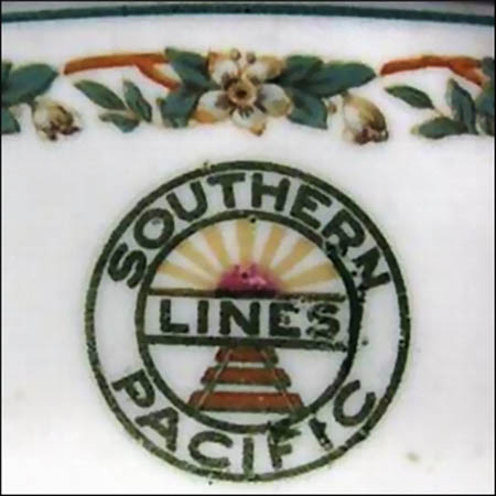 Southern Pacific Lines -detail