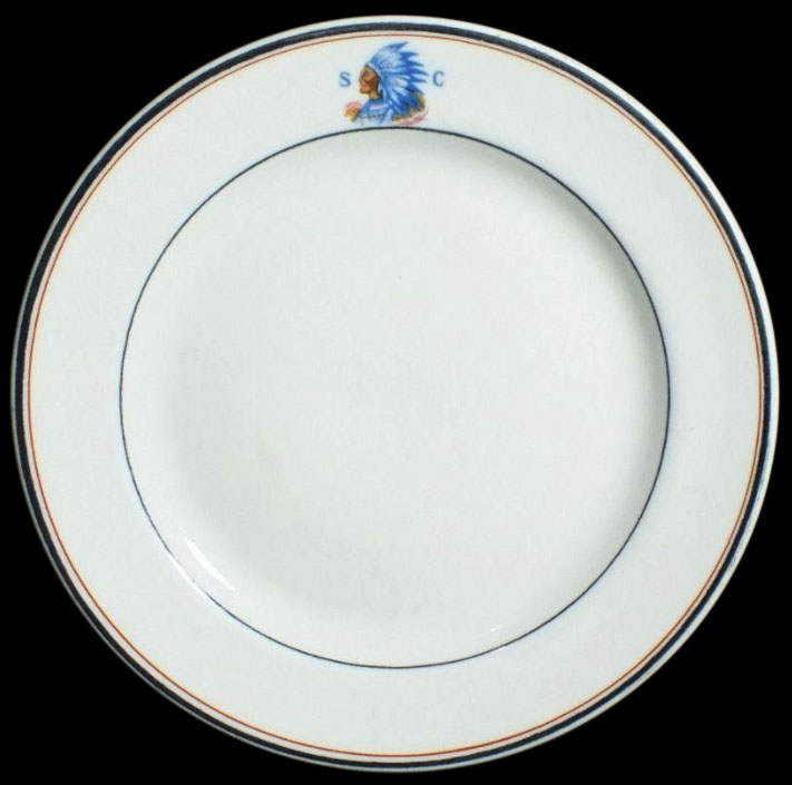 Spokane Club -plate
