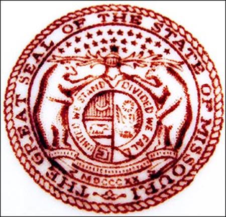 State Seal of Missouri -detail 2
