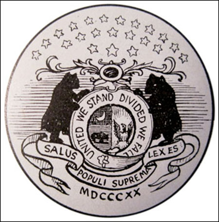 State Seal of Missouri -drawing