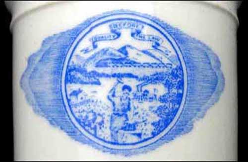 State Seal of Nebraska -detail