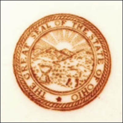 State Seal of Ohio -detail
