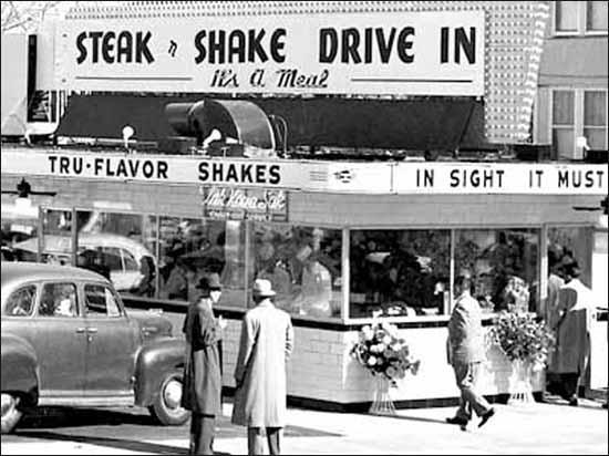 Steak n Shake Drive In 2 -photo