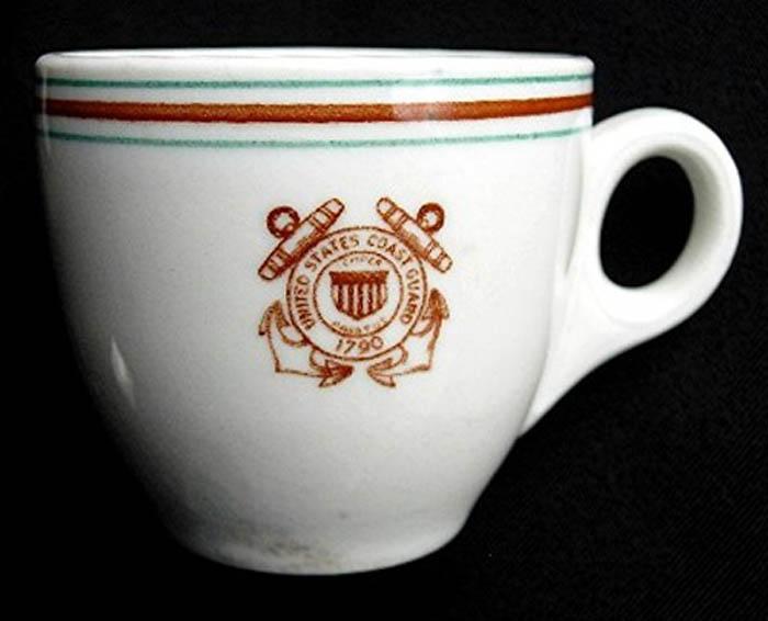 United States Coast Guard -demi cup