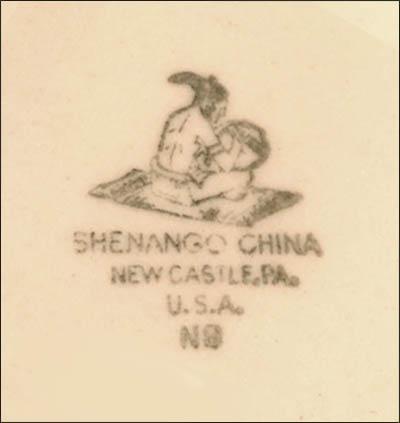 Chicago Club-Shenango-saucer-bs